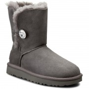 Pantofi UGG AUSTRALIA - W Bailey Button Bling 1016553 W/Grey