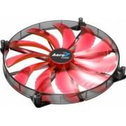 AEROCOOL SILENT MASTER RED LED Ventilator 200x200x20mm