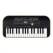 Casio SA 46 teclado, verde-amarillo