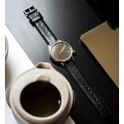 【KOMONO】ESTELLE MIRROR【フーズフーギャラリー/WHO'S WHO gallery レディス, メンズ 腕時計 ブラック ルミネ LUMINE】