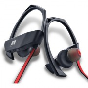 Iball Musi Track Lightweight Wireless Sports Headset (BlackRed)