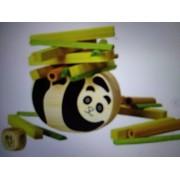 Bamboo panda button (japan import)