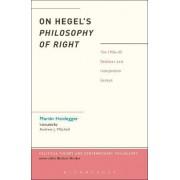 On Hegel's Philosophy of Right by Martin Heidegger