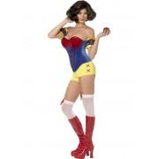 Costum carnaval femei Alba ca Zapada