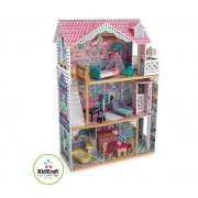 maison Annabelle pour poupée jusqu''à 12cm construction en bois robuste
