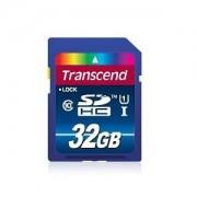 SD Card, 32GB, Transcend SDHC, UHS-I Premium, Class10 (TS32GSDU1)