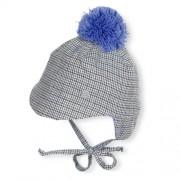 warme Wintermütze Jungen Schirmmütze mit Bommel - STERNTALER WINTER 4411501 -K1700
