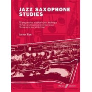 Jazz Saxophone Studies by James Rae