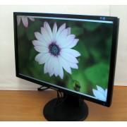 """24"""" SAMSUNG SyncMaster 2443BW Widescreen, Optimális felbontás 1920 x 1200, képarány 16:10"""