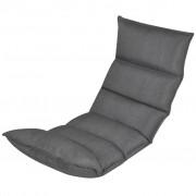 Opvouwbaar zitkussen grijs