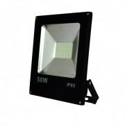 Fényvető / reflektor LED 50W, SMD, IP65, AC80-265V, black, 4000K-W
