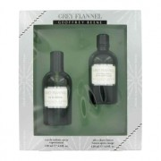 Geoffrey Beene Grey Flannel 4 oz / 118 mL Eau De Toilette Spray + 4 oz / 118 mL After Shave Gift Set Men's Fragrance 413742