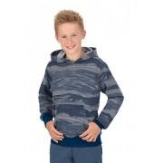 Trigema Jungen Kapuzensweater Größe: 104 Material: 70 % Baumwolle, 30 % Polyester Farbe: nightblue-melange