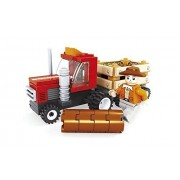Ausini Join The Farmer Gather Hay In The Truck With Action Figures Building Bricks 93pc Educational Blocks Set Compatible To Lego Parts Great Gift For Children