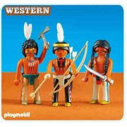 Playmobil 3 American Native Warriors 6272