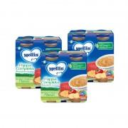 Mellin Pappe complete - Kit risparmio 3x Pappa Completa Verdure Pastina Manzo - KIT_3X_Confezione da 500 g ℮ (2 vasetti x 250g)