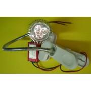Lampa decorativa 3x1W, 3W, 210 lm, 220V, cu sursa