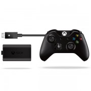 Xbox One Wireless Controller with Play & Charge Kit and Audio Jack