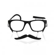 Óculos com Bigode e Sobrancelhas