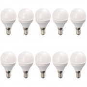 Set 10 Becuri LED Drimus 6W E14 Lumina Calda DL 3064