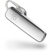 Plantronics M165 Marque 2 Ultralight Bluetooth Headset Compatible with Smartphones - White