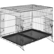 TecTake Hundbur-gallerbox 106 x 70 x 76 cm av TecTake