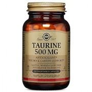 Solgar Taurine Vegetable Capsules 500 mg 100 Count