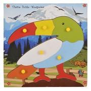 Skillofun Wooden Theme Puzzle Standard Woodpecker Knobs, Multi Color