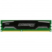 Crucial Ballistix Sport 8GB Single DDR3 1600 MT/s (PC3-12800) CL9 @1.5V UDIMM 240-Pin Memory BLS8G3D1609DS1S00
