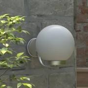 vidaXL Градинска стенна лампа, 32 см.