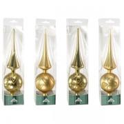 Puntali per albero di natale Impression - oro - 25518 - 600348 - Impression