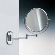 WINDISCH Universal Wand-Kosmetikspiegel, Ø 230 mm, 1-fache und 2 fache Vergrößerung 99147CR2