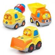 VTech Go! Go! Smart Wheels - Construction Vehicles 3-pack