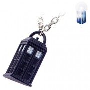 Doctor Who 3D Tardis Pendant Necklace