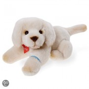 Pluche liggende Golden Retriever 30 cm