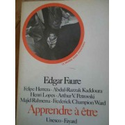 Apprendre A Ete - Edgar Faure F. Herrera A.r. Kaddoura H. Lopes A.v. Petrovski