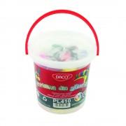 Plastilina 10 culori/set 400 g, DACO