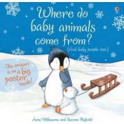Where Do Baby Animals Come From? by Anna Milbourne