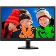 "Monitor TN LED Philips 18.5"" 193V5LSB2/10, HD Ready (1366 x 768), VGA, 5 ms (Negru)"
