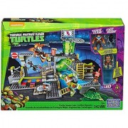 Mega Bloks DMX55 Teenage Mutant Ninja Turtles - Turtle Sewer Lair 342 Piece