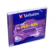 DVD+R Dual Layer carcasa jewel VERBATIM