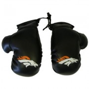 Rearview Mirror Mini Boxing Gloves - NFL Football - Denver Broncos