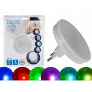 Kleuren LED nachtlampje 7 cm
