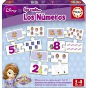 Princesa Sofía - Aprendo los números, juego educativo (Educa Borrás 15949)