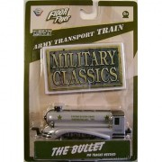 Floor Flyer Army Transport Die-cast Train: The Bullet Military Classics