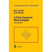 A First Course in Real Analysis by Murray H. Protter