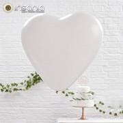 Balões Coração Vermelho 26 cm (Pack 10)