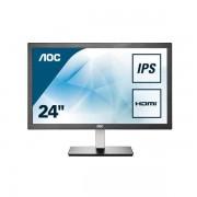 """AOC I2476vwm 23.6"""" Full Hd Ips Nero, Argento Monitor Piatto Per Pc 4038986144445 I2476vwm 10_0g30197"""