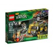 LEGO Ninja Turtles Turtle Van Takedown Building Set (79115)