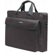 Manhattan 15.4 Notebook Briefcase Black London, Polyester, 438889 (London, Polyester Fits widescreeens up to 15.6)